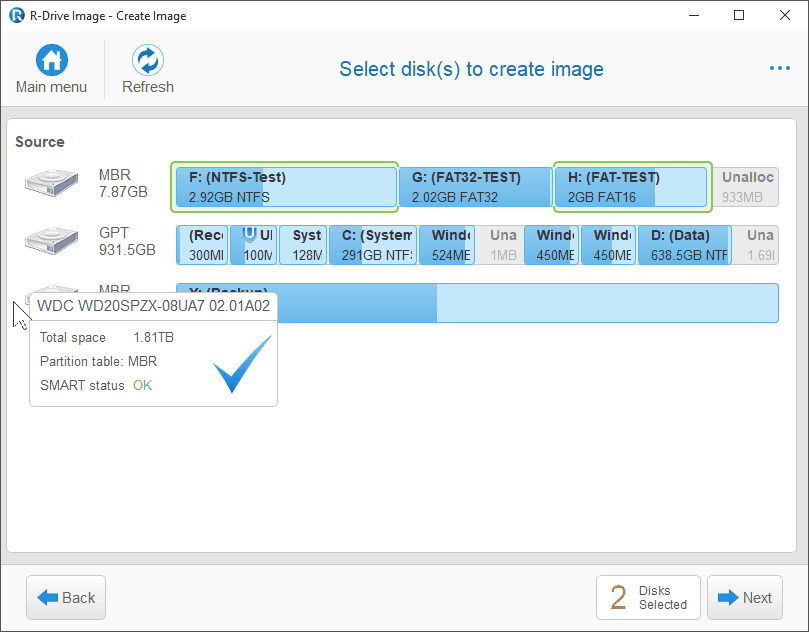 R-Tools R-Drive Image 6.3 Build 6307 Multilingual Partselect